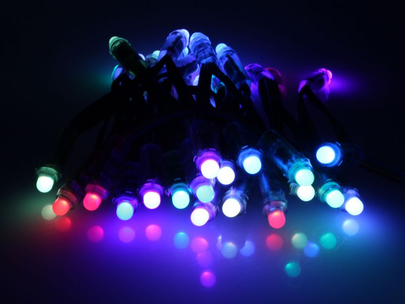 rgb lights give you full control over the colors and programming of. Black Bedroom Furniture Sets. Home Design Ideas