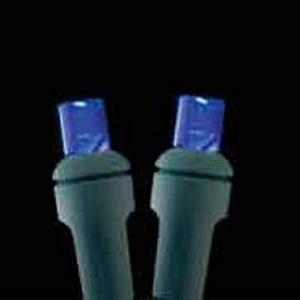 5mm 100L Full Wave LED Blue Holiday Lights
