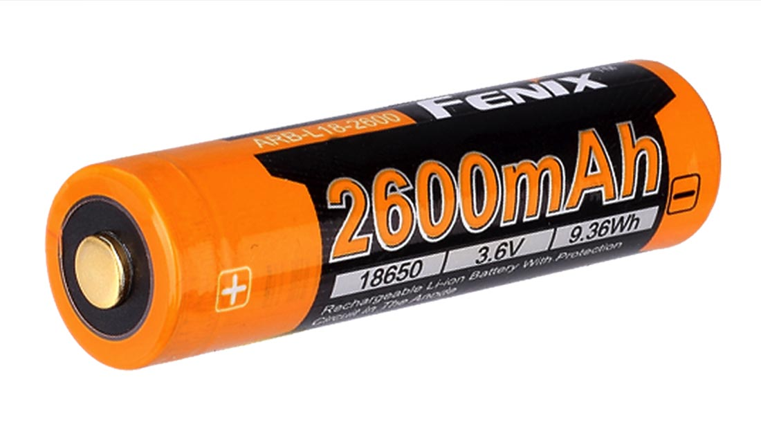 Fenix 18650 2600 mAH Battery