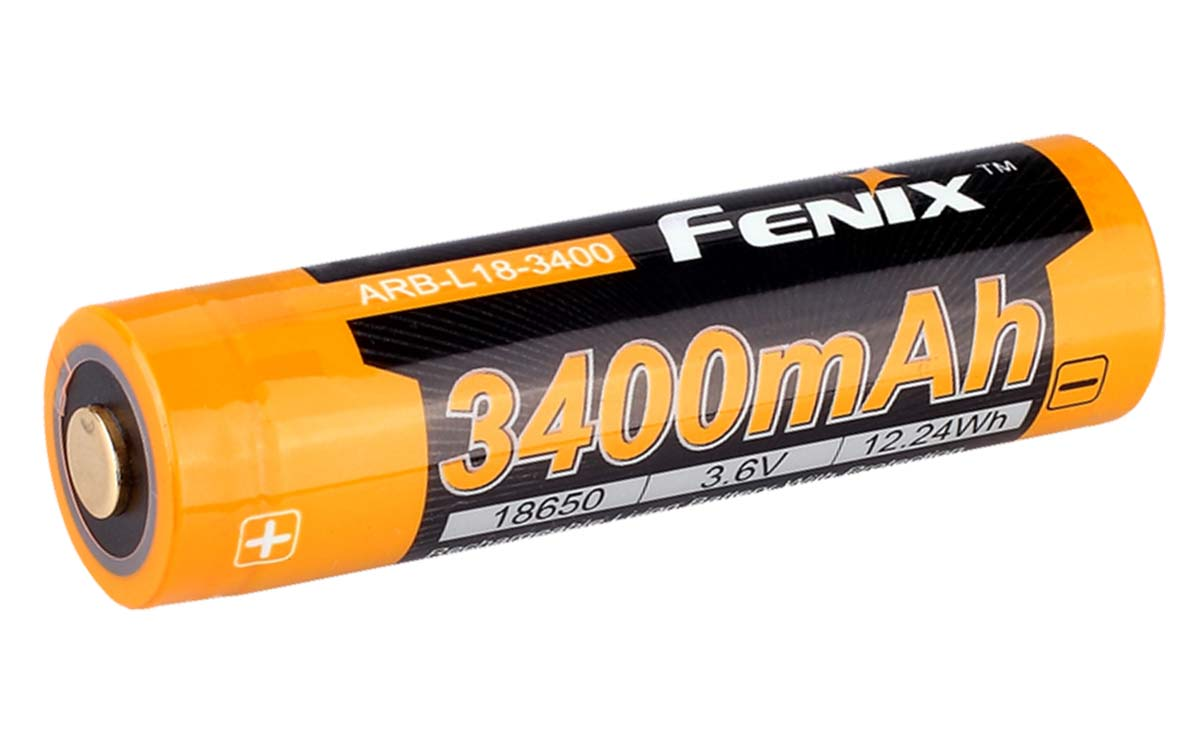 Fenix 3400mah 18650 Battery