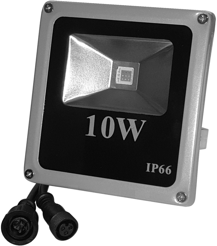 RGB flood light 10W 12v ws2811