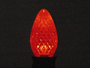 C7 SMD LED Retro Fit Red