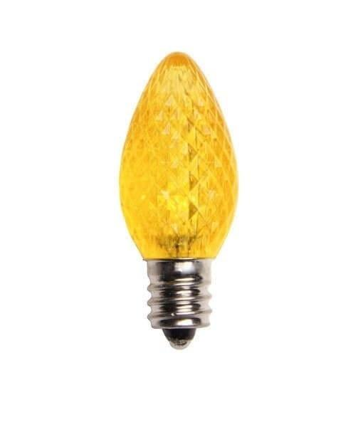 C7 SMD LED Retro Fit Yellow