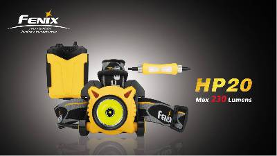 Fenix HP20 Headlamp OPEN BOX