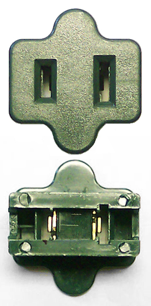 SPT-1 Female In Line Plug GREEN
