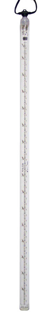 PURE WHITE Cascade Snowfall Light Tube, 36 inch 48 LEDs